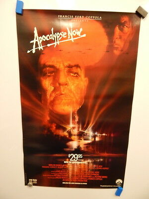 1979 apocalypse now movie poster 27 x 41 marlon brando