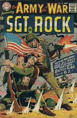 OUR ARMY AT WAR #185 VG/F, Sgt. Rock, DC Comics 1967