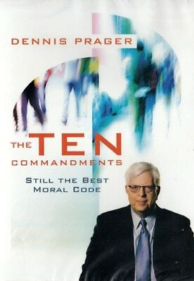 NEW Sealed Christian Teaching DVD! The Ten Commandments - Dennis Prager