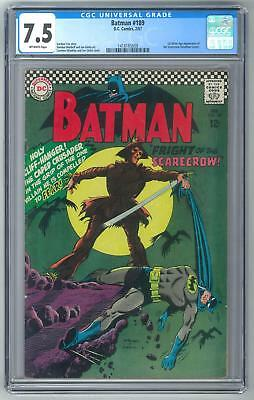Batman #189 CGC 7.5 1st Silver Age Appearance of Scarecrow