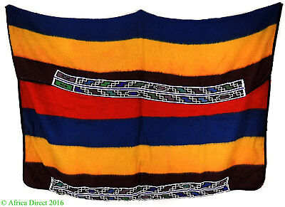 Ndebele Beaded Blanket Traditional Wool South African Art