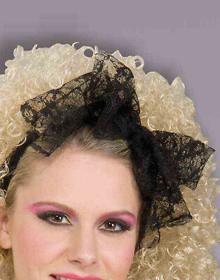 80'S Lace Adult Hair Madonna Bow Scarf Accessory