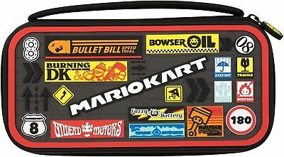 PDP Nintendo Switch Mario Kart Deluxe Travel Carrying Case for Console and Games