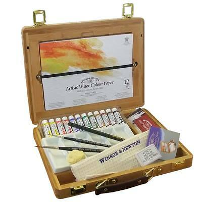Winsor and Newton Professional Watercolours - Bamboo Box Tube Set - 5ml