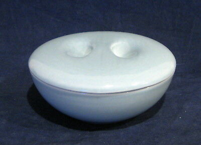 Russel Wright Iroquois Casual Blue Covered Cereal Bowl