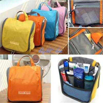 5eb30c6ff59e Camping Mens/Ladies Travel Toiletry Wash Bag Makeup Case Hanging Grooming Q