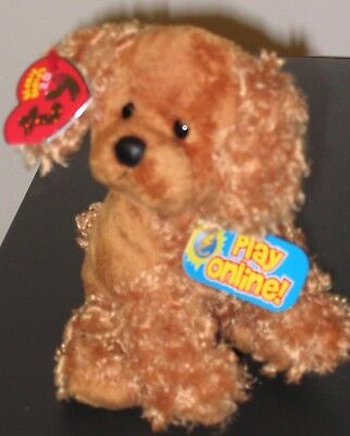 Ty Beanie Baby 2.0 - FROLICS the Dog - NEW - MINT with MINT TAGS - UNUSED CODE