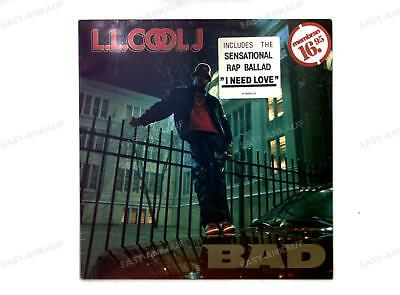 LL Cool J - Bigger And Deffer Europe LP 1987 /3