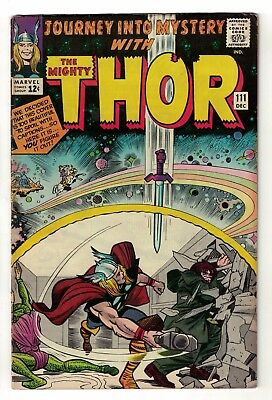 Marvel comics Journey into mystery Thor 111 FN- 5.5