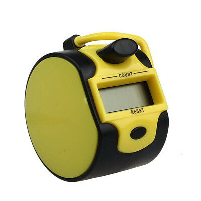 Portable Fashion 5 Digit Electronic LCD Digital Hand Tally Plastic Counter Golf