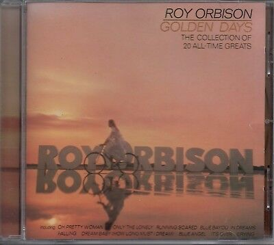 ROY ORBISON - Golden Days - CD Album *Best Of**Greatest Hits**Collection*
