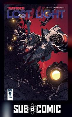 TRANSFORMERS LOST LIGHT #6 SUBSCRIPTION VARIANT B (IDW 2017 1st Print) COMIC