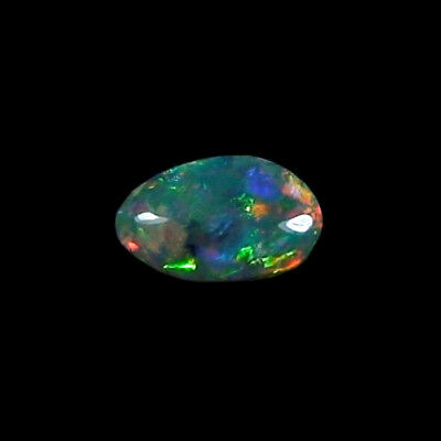 1,83 ct Black Crystal Opal 12,14 x 7,31 x 3,34 mm
