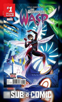 UNSTOPPABLE WASP #1 NOW (MARVEL 2017 1st Print) COMIC