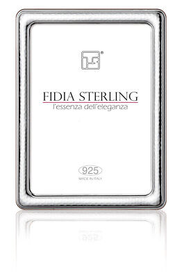 925 Sterling Silver Hammered  Photo Frame  NEW