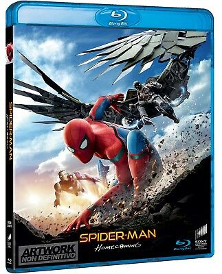 Spider-Man Homecoming - Blu Ray  Blue-Ray Fantascienza