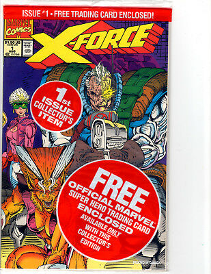 X-Force #1 (1991) Marvel Mint Sealed in original bag and boarded CABLE!