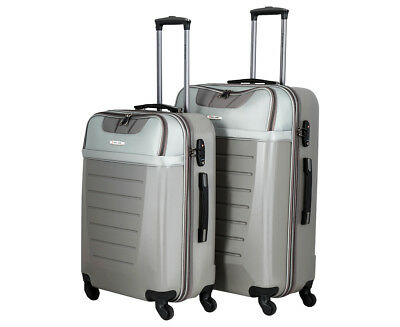 Pierre Cardin 2-Piece 4W Luggage Set - Stone