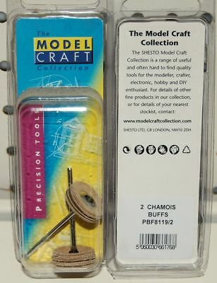 MODELCRAFT 2 CHAMOIS POLISHING BUFFS (Ref: PBF81192) DREMEL ETC