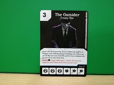Dice Masters Promo - The Outsider BAC