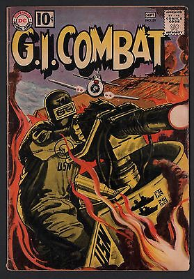 G.I. Combat #89 VG 4.0 Cream to Off White Pages