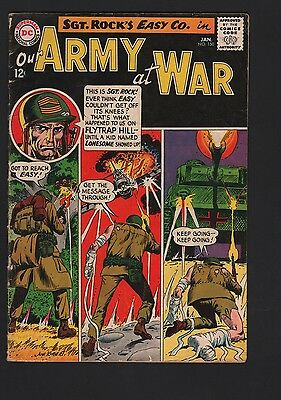 Our Army at War #150 G/VG 3.0 Cream to Off White Pages
