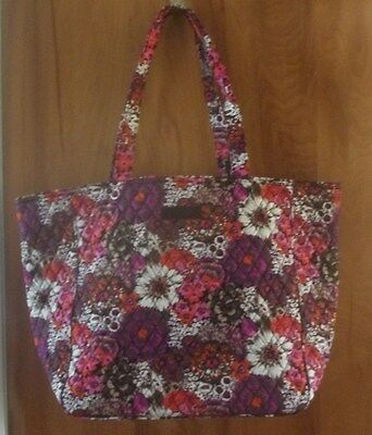 Vera Bradley  Grand Tote 2.0 - Rosewood - NWT Retail $65  Great Gift!