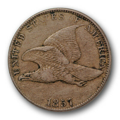 1857 Flying Eagle Cent Very Fine to Extra Fine US Coin #6181