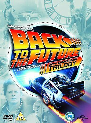Back To The Future Trilogy DVD Box-Set BRAND NEW 2015