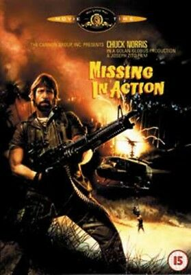 Missing in Action (Chuck Norris) New DVD Region 4