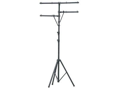 Soundking aluminium lighting stand 3.25m max height, dual arms