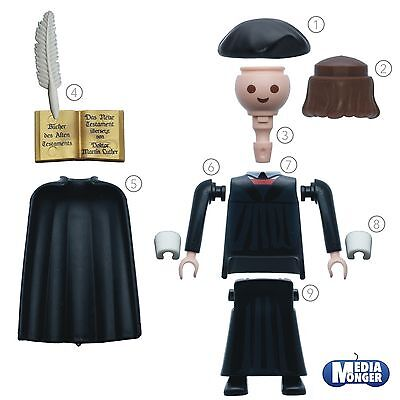 Playmobil Figur Martin Luther Spiritual Monk Spare Part 9325