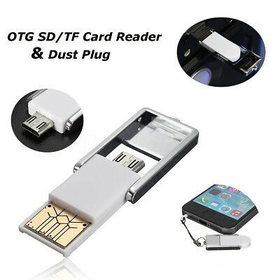Multi-Function Micro USB OTG Adapter Micro SD Card Reader For Android/Laptop