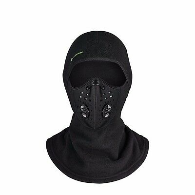 RockBros Winter Fahrrad Anti-Nebel Windproof Sturmhaube Halswärmer Windmaske