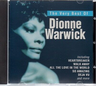 Dionne Warwick - The Very Best Of - CD Album *Greatest Hits**Collection*