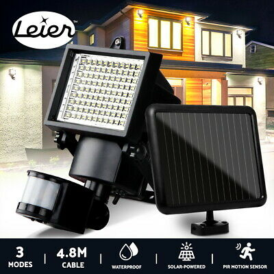 4x Solar Power Sensor Security Light Motion Sensor Outdoor Garden Wall Lamp