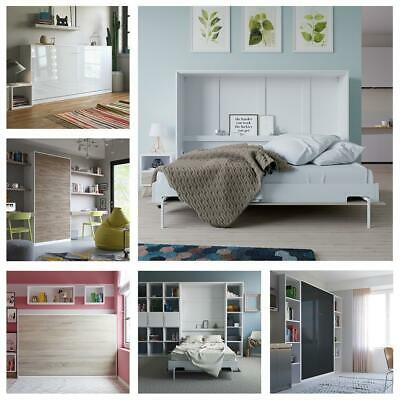 smartbett 90x200 120x200 140x200 160x200 schrankbett wandbett bettschrank eur 659 95 picclick de. Black Bedroom Furniture Sets. Home Design Ideas