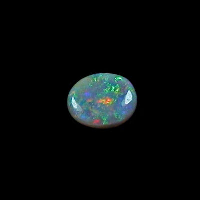 1,59 ct Black Crystal Opal 9,49 x 7,71 x 3,57 mm