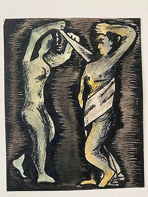 Possible Georges Rouault  , Original Drawing Ink   , Unsigned