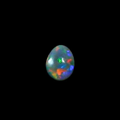 1,16 ct Black Crystal Opal 8,15 x 6,45 x 3,50 mm