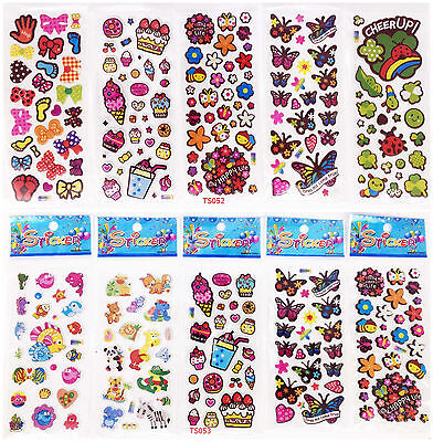 3D child Cartoon Wall Stickers Stereoscopic Butterfly 11 sheet /Lot Party Gift A