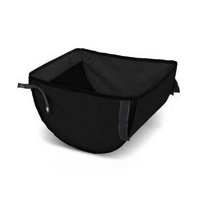 Out n About Nipper Double v3 Storage Basket Raven Black