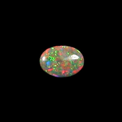 1,12 ct Black Crystal Opal 9,95 x 7,26 x 2,59 mm