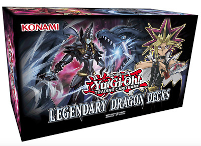 Yu-Gi-Oh! - Legendary Dragon Decks 3 - DEUTSCH - Holiday Box 2017 - NEU & OVP