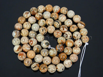 Natural Fire Lace Red Jasper Gemstone Round Spacer Beads 16'' 4mm 6mm 8mm 10mm