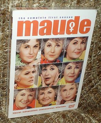 Maude The Complete First Season 3-Disc Dvd Box Set, New & Sealed, Rare Edition