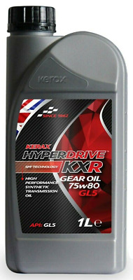 Brand  New  Kerax  Hyperdrive  KXR  75W80  GL5 Gear Oil  -1 L