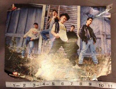 New Kids On The Block magazine Poster Pin up 8x10 NKOTB Joe McIntyre Madonna