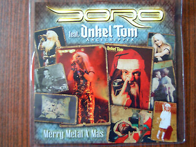 Doro- Merry Metal X-Mas Red 7 Single -Limited Edition NEW-OVP 2012