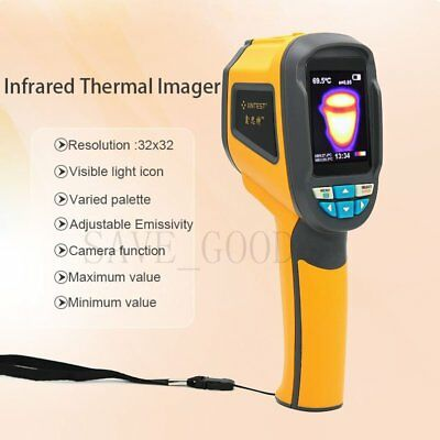 Infrared Thermal Imager & Visible Light Camera 1024 Pixel-20~300°C+4G Card HT02D